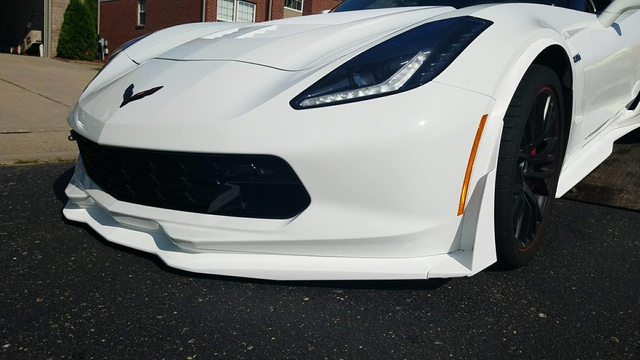 Thank you Chuck for those kind words about your Vinyl Wrap job for your Corvette.